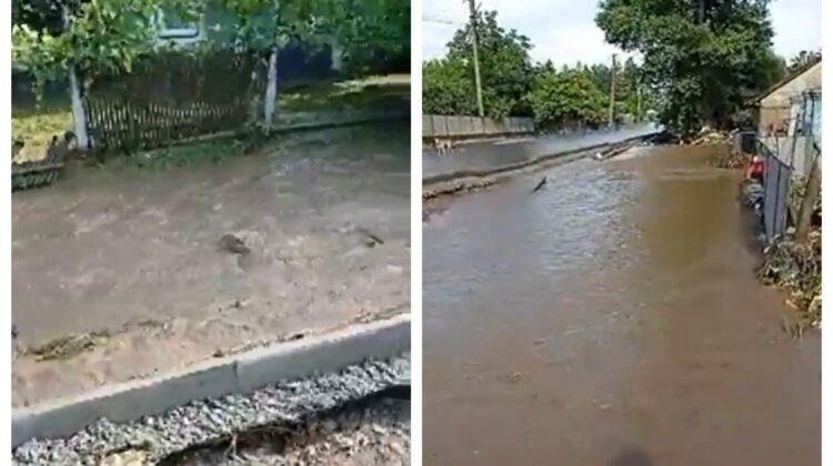 VIDEO Inundațiile au pus stăpânire pe Ucraina! La Cernăuți șuvoaile au măturat totul în calea lor