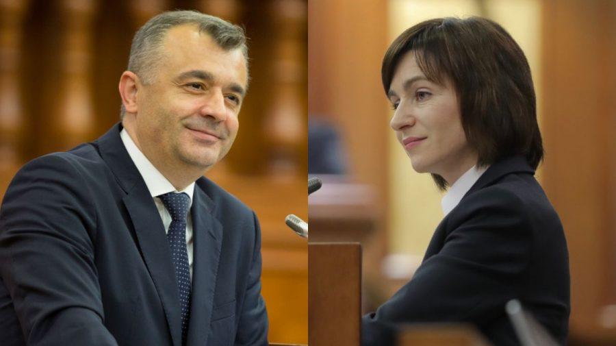 Ion Chicu, în apărarea Maiei Sandu după incidentul de la Edineț: A fost supusă unor atacuri nedemne…derapaje josnice