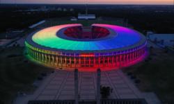 FOTO UEFA interzice, Germania nu ascultă! Toată țară a fost acoperită de curcubeul LGBT