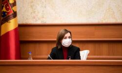 Maia Sandu, cu mesaj de mulțumire pentru funcționarii publici, dar și cu mici dojeneli