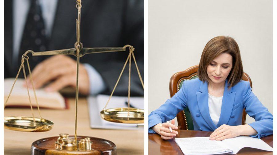 Comunitatea avocaților a ajutat-o pe Maia Sandu. Șefa statului a promulgat modificările legii cu privire la avocatură