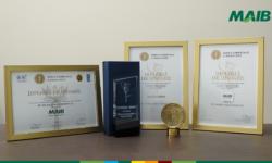Triplă apreciere pentru MAIB la concursul Marca Comercială a Anului