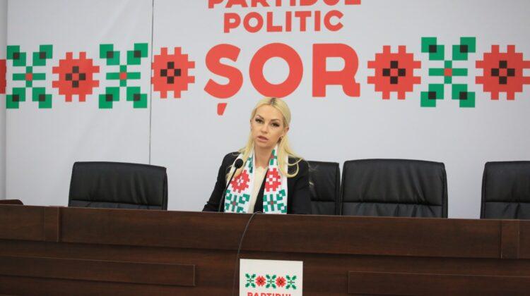"""Marina Tauber o acuză pe Maia Sandu că ar face campanie pentru PAS cu un proiect furat de la Partidul """"ȘOR"""""""