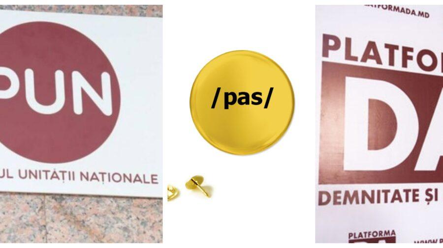 """FOTO PAS, PUN și Platforma DA au făcut """"unirea"""". Fotografia publicată de Iurie Reniță unde se întreabă """"de ce?"""""""
