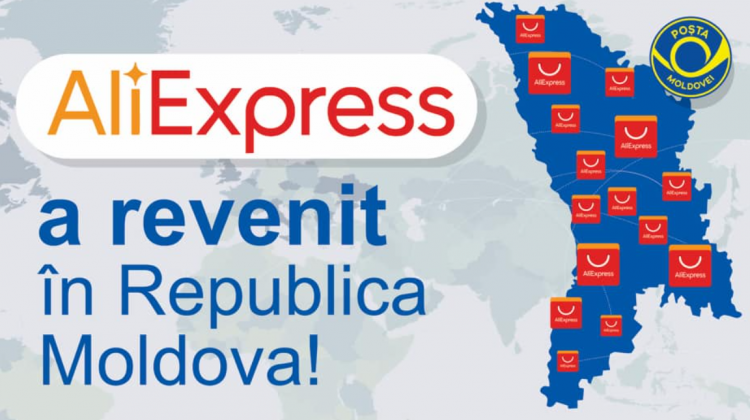 Faceți cumpărături pe AliExpress? Poșta Moldovei vine cu unele precizări