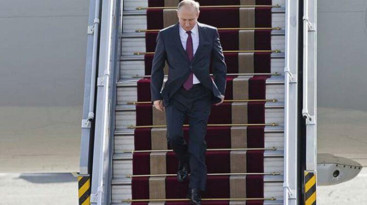 Putin a refuzat o recepție oficială pe aeroportul din Geneva