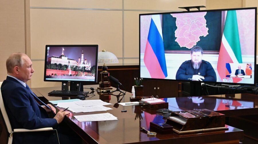 """VIDEO """"Fiind soldatul dvs. loial, sunt gata să execut orice ordin"""". Putin îl vrea din nou pe Kadîrov șef al Ceceniei"""