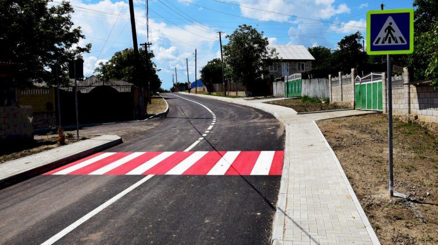 Cel mai costisitor proiect de infrastructură rutieră din raionul Orhei a fost finalizat, în satul Tabăra