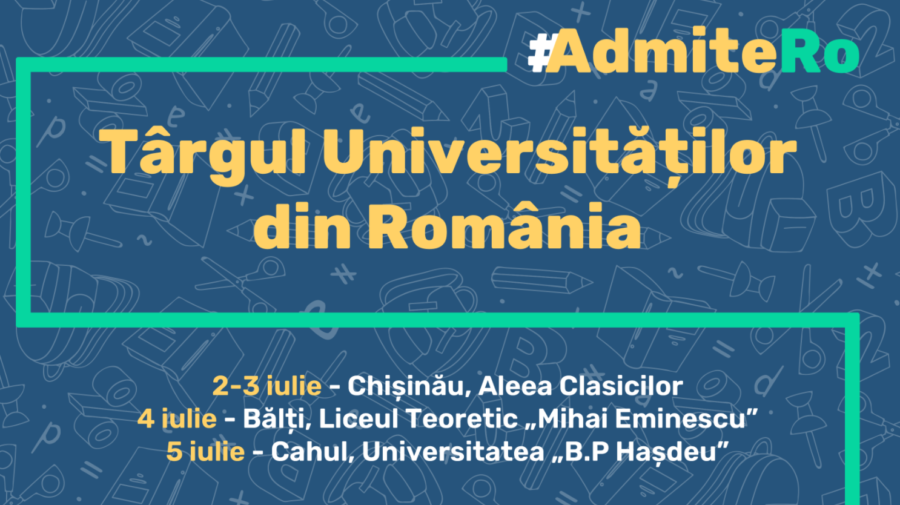 Planifici să-ți continui continui studiile peste Prut? Participă la Târgul Universităților din România