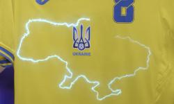 (FOTO, VIDEO) Noul echipament al Ucrainei pentru Euro provoacă furie în Rusia. Moscova cere UEFA să ia măsuri
