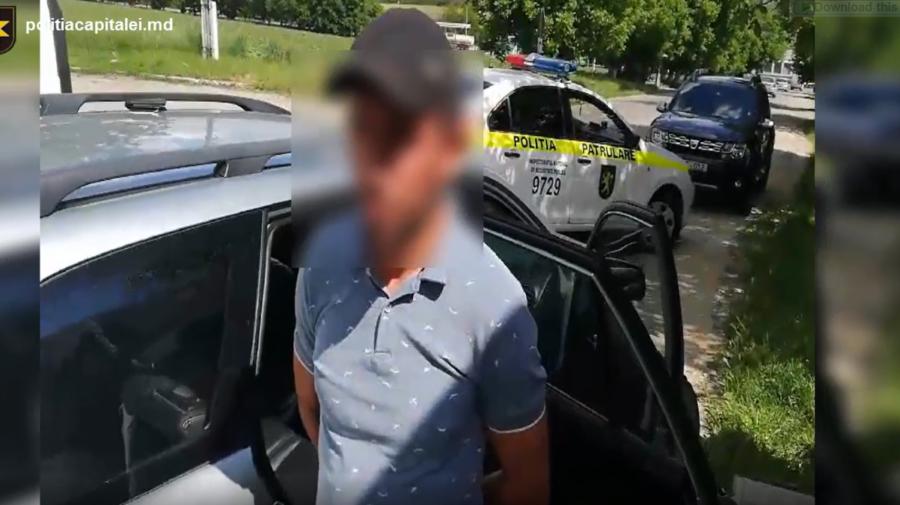 VIDEO Se plimba cu un automobil furat. Individul riscă până la patru ani de închisoare