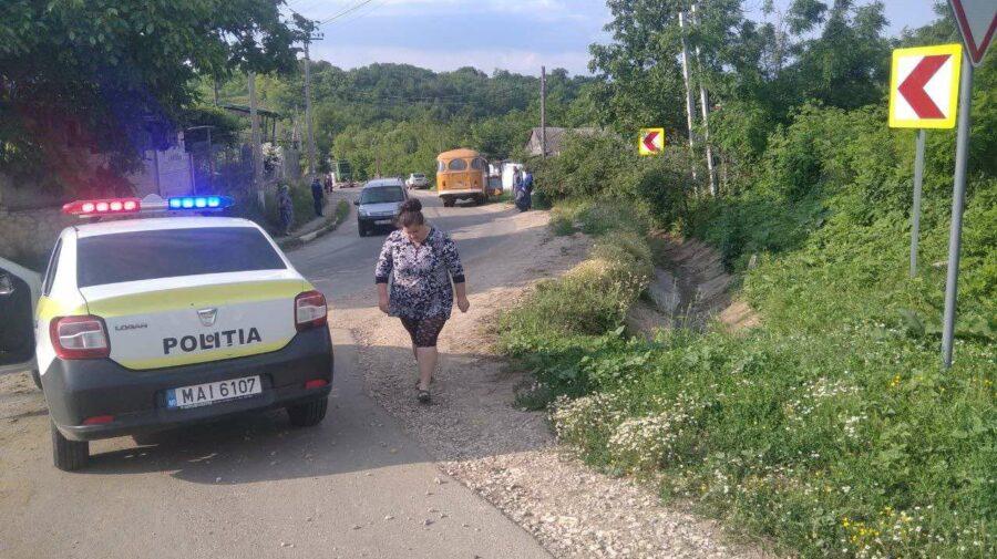 FOTO A murit la spital după ce a fost lovită de un autobuz, în raionul Călărași