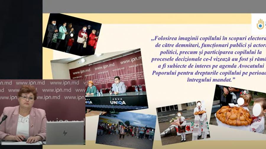 Avocatul Poporului pentru drepturile copilului: Nu implicați copiii în campaniile electorale