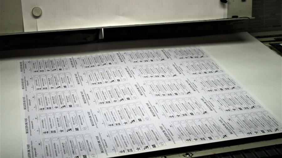 Când începe tipărirea milioanelor de buletine de vot și cine poate să participe la proces. Precizările CEC