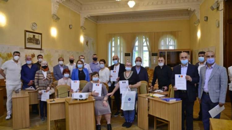 Cetățeni ruși, libanezi, turci, au depus jurământul pentru obținerea cetățeniei Republicii Moldova