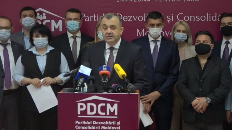 """(VIDEO) """"Moldova poate depăși vremurile grele""""!  Fostul premier, Ion Chicu s-a lansat oficial în campania electorală"""