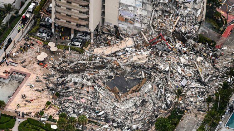 GALERIE FOTO, VIDEO Noaptea dezastrelor! O clădire cu 12 etaje s-a prăbușit în Miami. 99 de persoane, dispărute