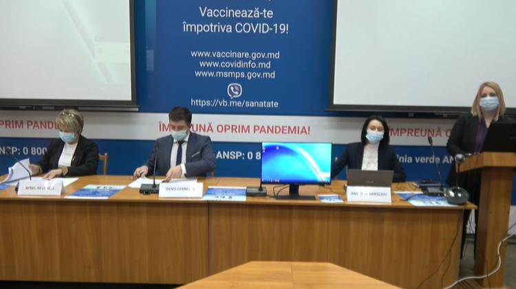 Conferință de presă privind procesul de vaccinare împotriva COVID-19. Urmărește în direct pe RLIVE TV și RLIVE.MD