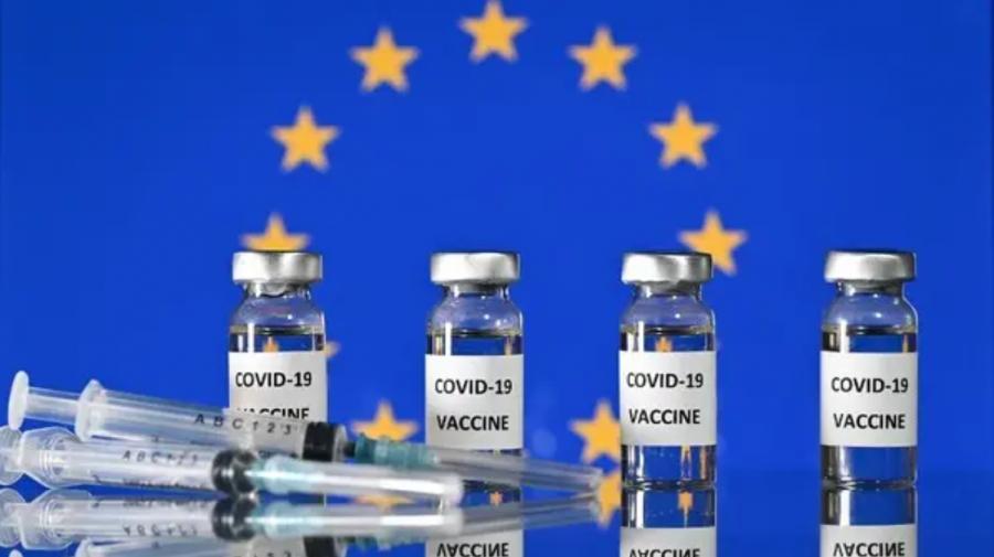 Aproape jumătate dintre cetățenii Uniunii Europene s-au vaccinat anti-COVID cu cel puțin o doză