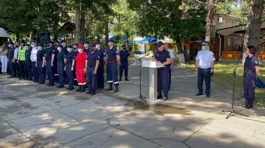 FOTO Ofițerii IGSU informează populația. Scopul: Minimalizarea cazurilor de înec în perioada estivală