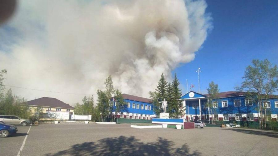 (VIDEO) Incendiu forestier. Se extinde în câteva localități din Rusia, iar oamenii sunt rugați să fie gata de evacuare