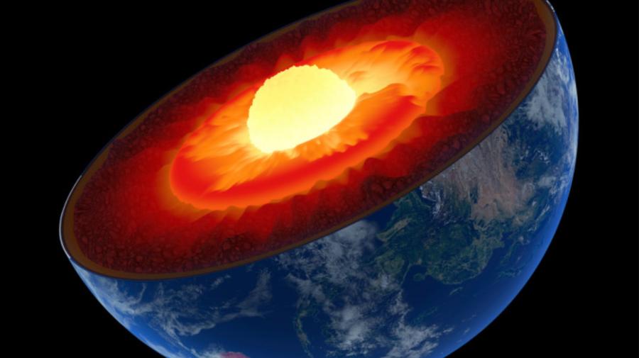 Descoperire științifică: Nucleul Pământului crește asimetric, modificând câmpul magnetic