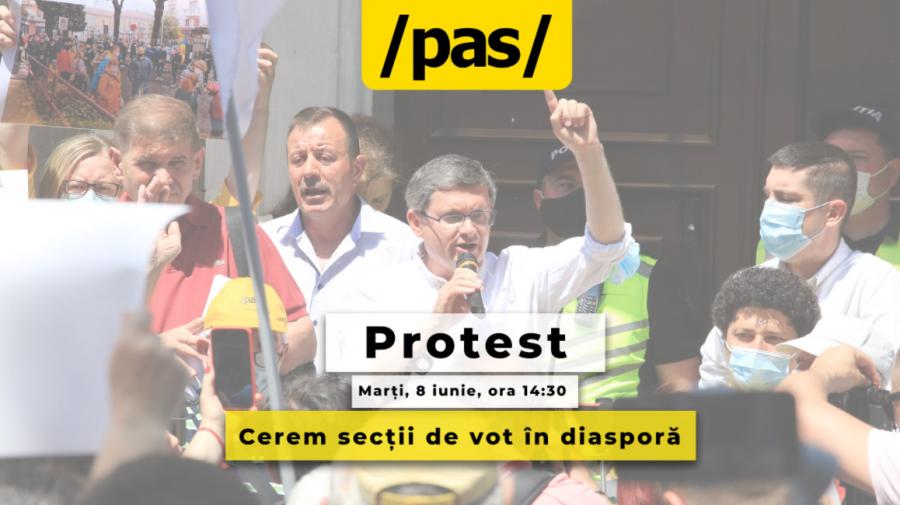 Un nou protest la CEC! Oamenii sunt îndemnați să iasă masiv și mâine în stradă