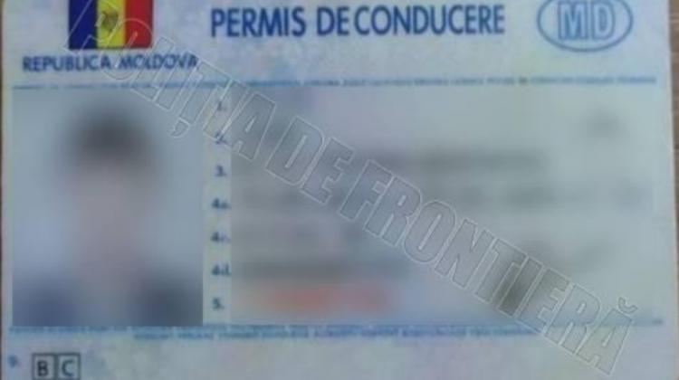 """În UE, cu permis de conducere fals. Conaționalul achitase pentru """"perfecționare"""" peste două mii de lei"""