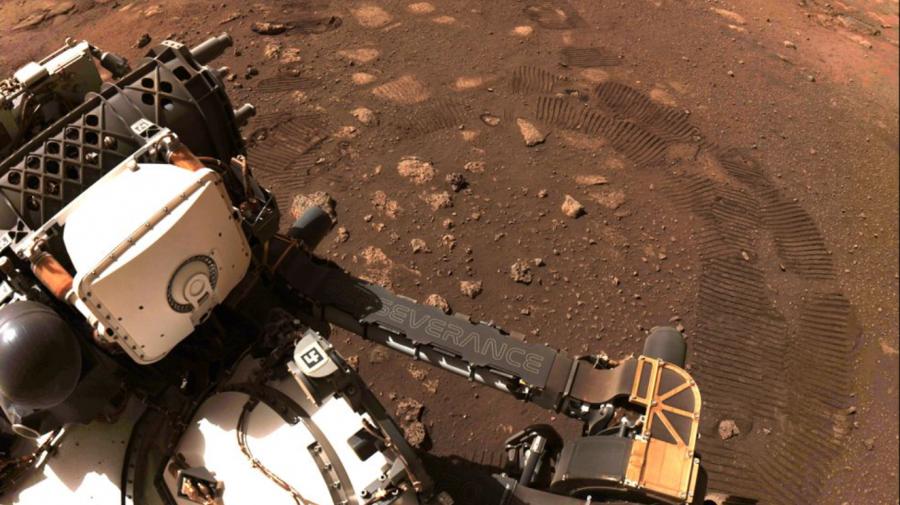 (GALERIE FOTO) NASA: Primele 100 de zile pe Marte ale roverului Perseverance, în imagini