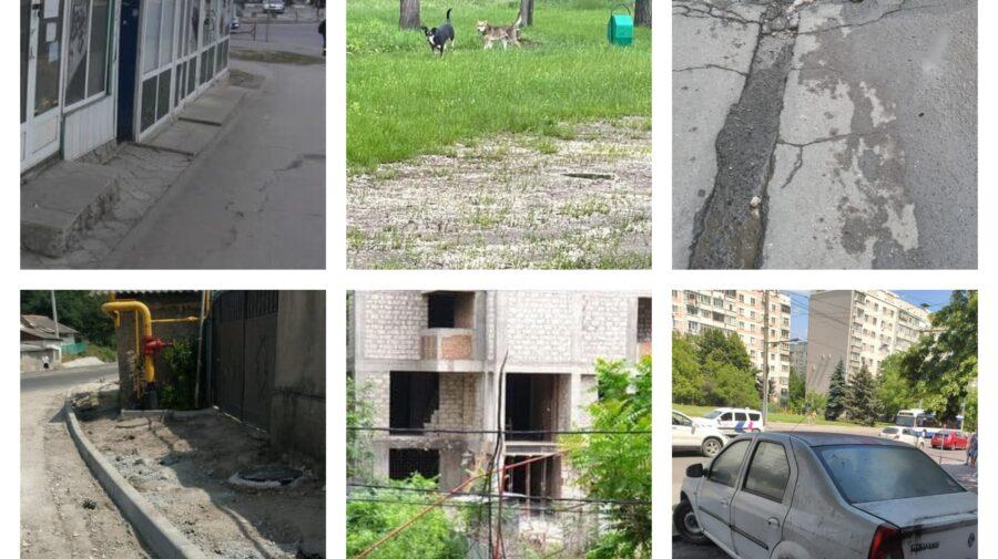 Cât de bine se descurcă municipalitatea cu problemele oamenilor? Din 300 de sesizări, 40 au fost soluționate