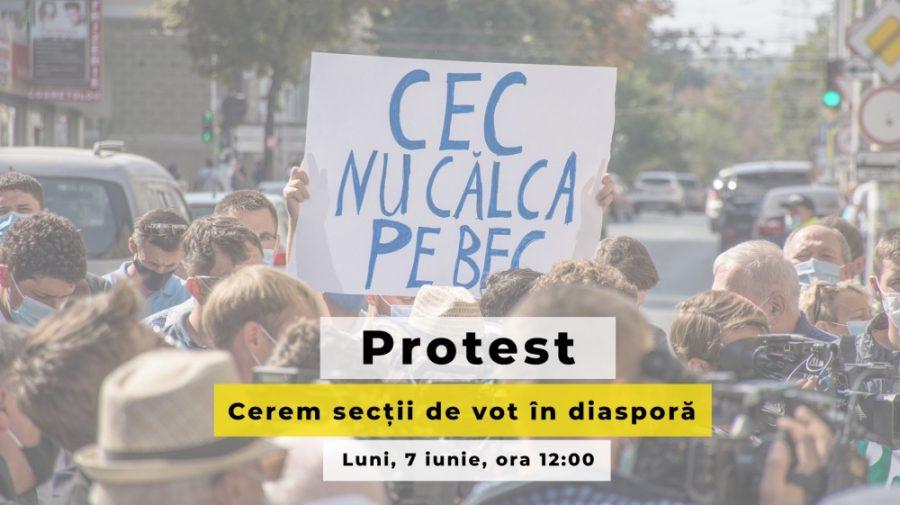 Decizia CEC privind nr. secțiilor din diasporă, criticată: PAS anunță protest, iar PN a contestat-o în instanță