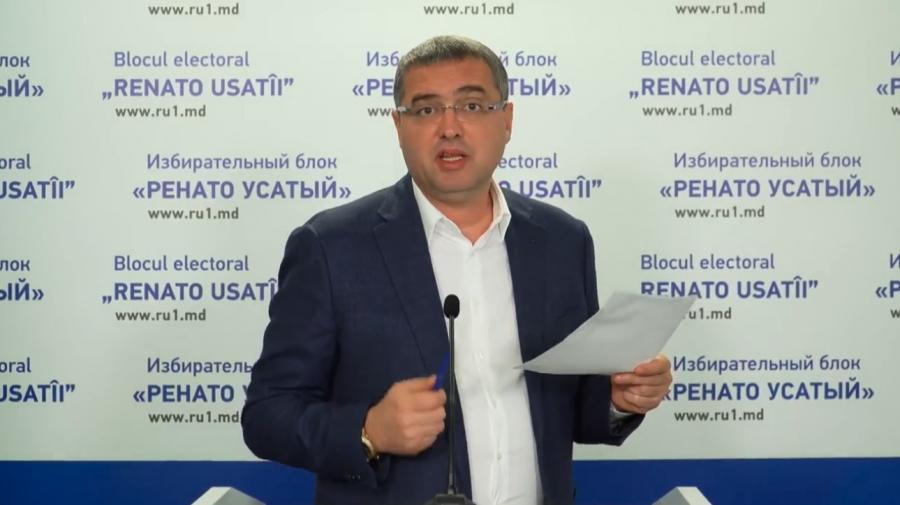 (VIDEO) ULTIMA ORĂ! Renato Usatîi cheamă cetățenii la protest în fața Curții de Apel Chișinău