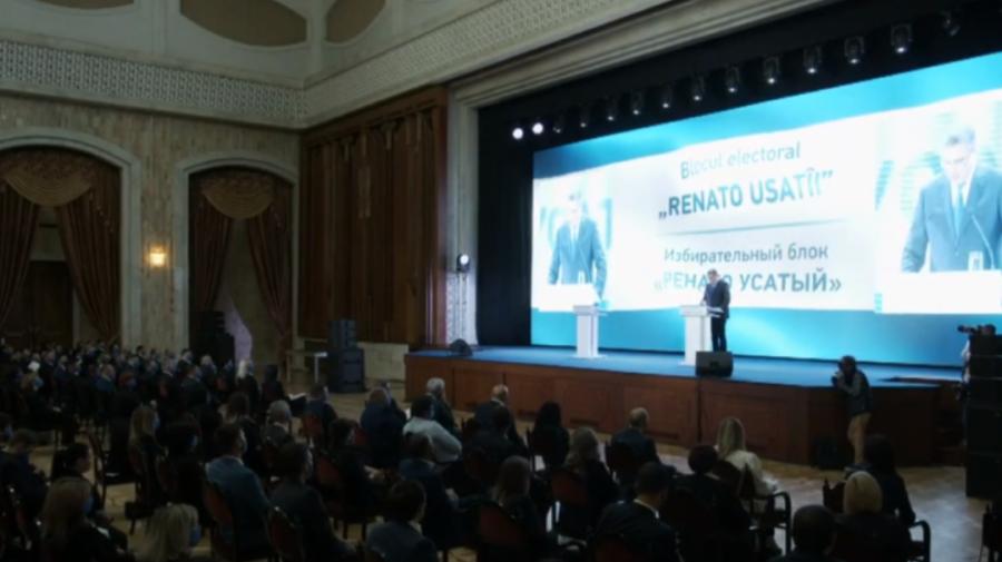(VIDEO) Renato Usatîi s-a lansat în campania electorală! Ce vrea să facă cu Moldova politicianul