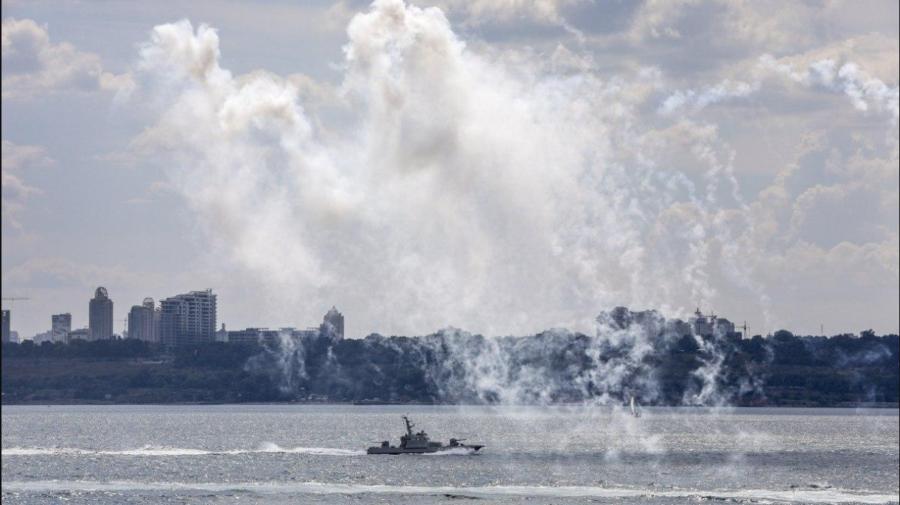 În Marea Neagră încep exercițiile militare Sea Breeze 2021, unde vor fi elaborate diverse scenarii de luptă