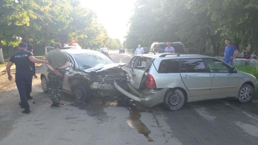 (FOTO) Șofer în stare de ebrietate avansată, la spital. Conducea mașina cu 113 km/h
