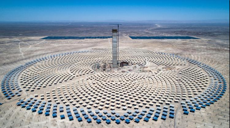 (FOTO) A fost inaugurată cea mai mare centrală solară termică din America Latină