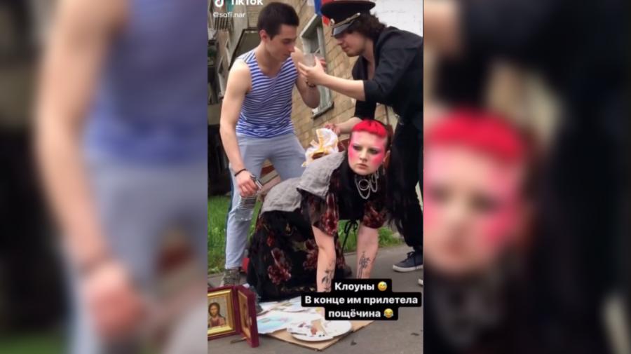 VIDEO Dosar penal pentru un tiktok cu icoane