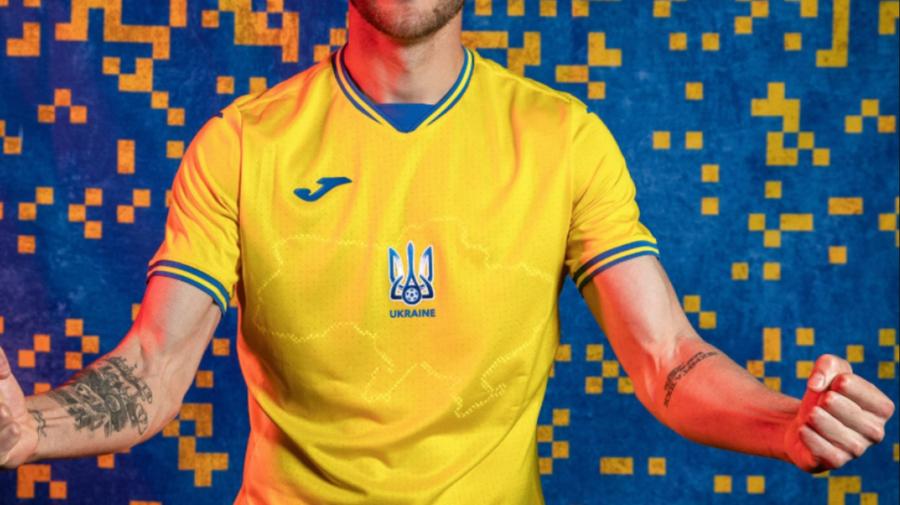 UEFA s-a răzgândit! Ce se va întâmplă cu echipamentul Ucrainei de joc pentru Euro 2020 care a înfuriat Rusia
