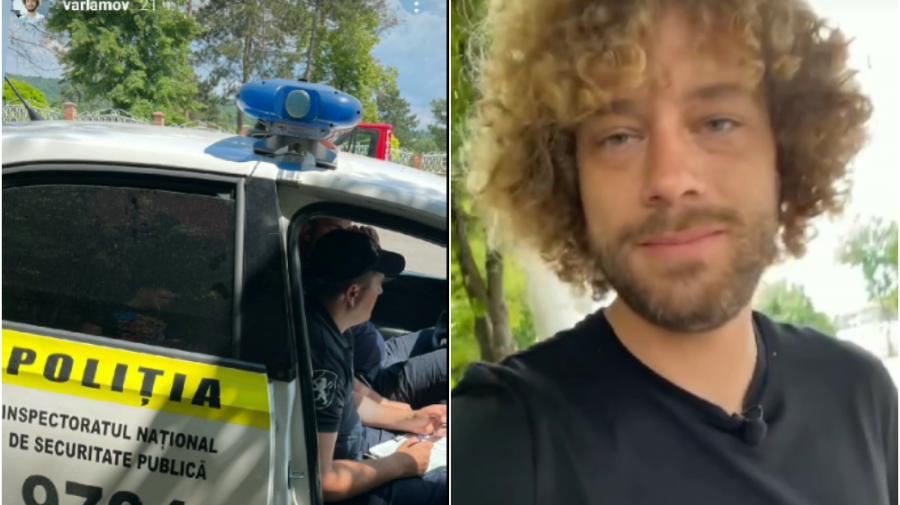 """""""Niște șarlatani infernali cu epoleți""""! Vloggerul Varlamov a acuzat polițiștii moldoveni de înșelătorie (VIDEO)"""