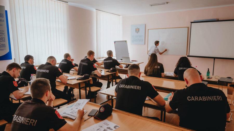 Oportunitate pentru 12 militari din cadrul IGC. În cadrul unui curs vor studia limba franceză