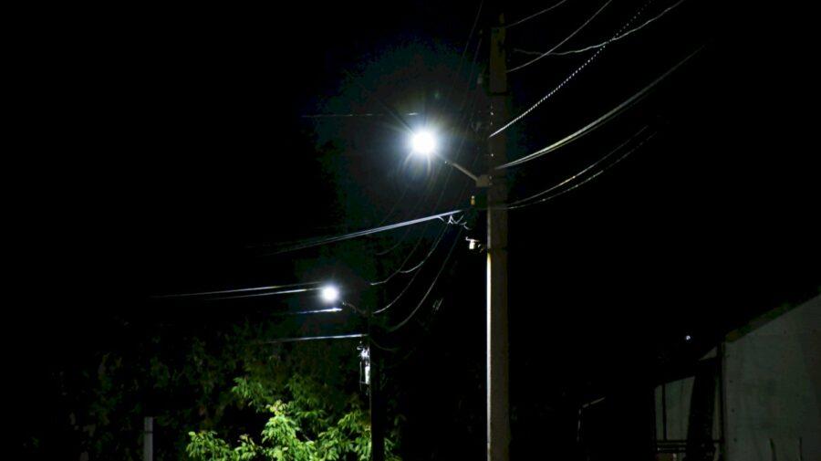 Raionul Orhei, iluminat aproape în totalitate. Isacova, un alt sat are lumină noaptea pe străzi