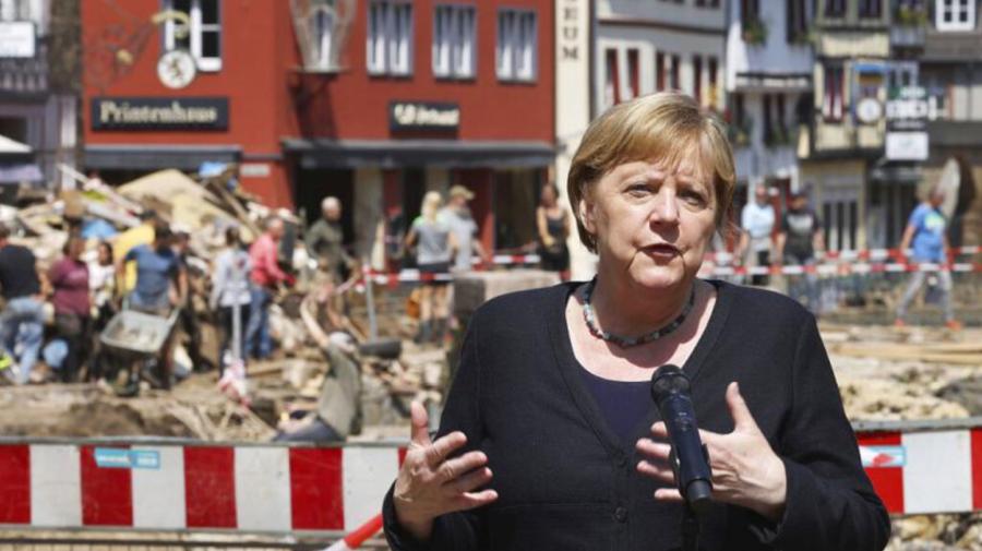 Germania a aprobat un pachet de ajutor de urgenţă, de 400 de milioane de euro, pentru victimele inundaţiilor