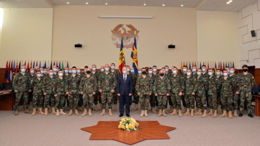 Victor Gaiciuc: Moldova îşi consolidează poziţia de furnizor de securitate în lume, ceea ce este un plus de imagine