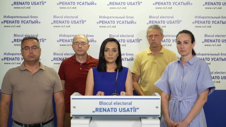 """VIDEO Acuzații grave în adresa Partidului """"ȘOR"""". Blocul lui Renato Usatîi spune că primul ar mitui oamenii"""
