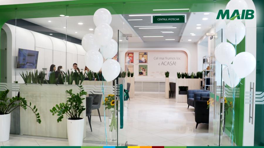 FOTO Cel mai frumos loc e ACASĂ! În Chișinău a fost inaugurat Centrul Ipotecar MAIB