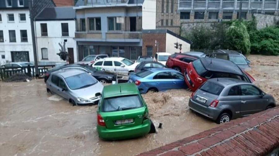Belgia se confruntă cu noi inundaţii după furtunile violente