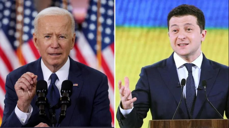 Vladimir Zelenski a fost invitat de Joe Biden să viziteze Casa Albă. Congresmanii nu sunt de acord cu data stabilită
