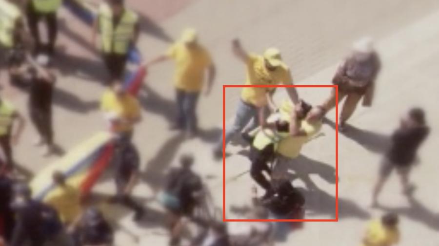 VIDEO Membrii AUR vor fi sancționați penal după ce au pus un polițist la pământ în 2 timpi și 3 mișcări