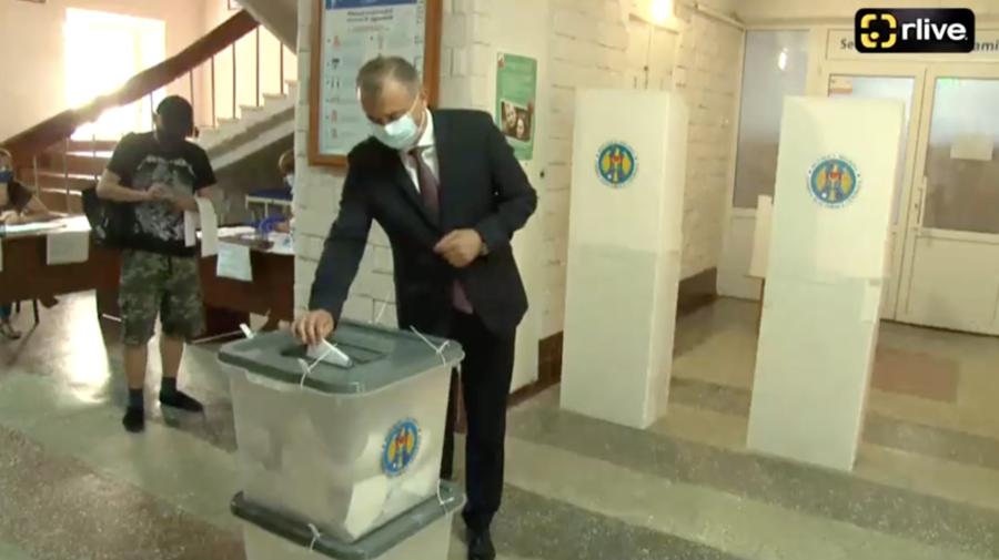 VIDEO Ion Chicu: Am votat pentru oamenii noștri plecați peste hotare care stau inima frântă că lucrează pentru alții