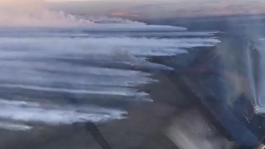 VIDEO Cea mai secetoasă vară din ultimii 150 de ani din Iacutia: 1.500.000 de hectare sunt în flăcări